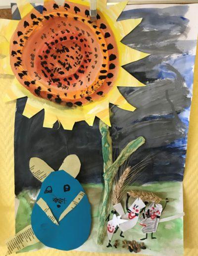 Kunstunterricht Vineta Grundschule Koserow
